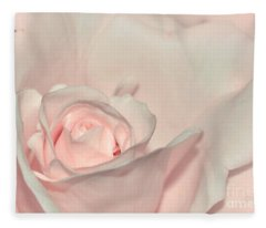Pink Satin Fleece Blanket