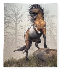Pinto Fleece Blanket