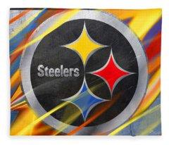 Pittsburgh Steelers Football Fleece Blanket