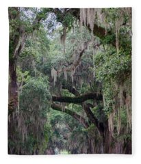 Plantation Path Fleece Blanket
