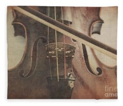 Play A Tune Fleece Blanket