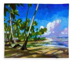 Playa Bonita Fleece Blanket