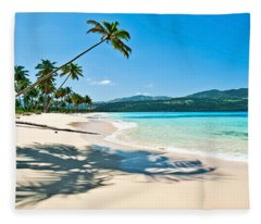 Playa Rincon Fleece Blanket