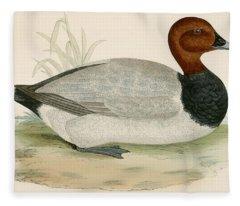 Diving Ducks Fleece Blankets