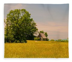 Poets Walk Park Fleece Blanket