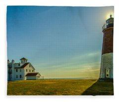 Point Judith Light Fleece Blanket
