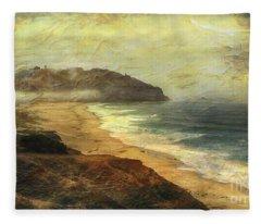 Point Sur Lighthouse Fleece Blanket