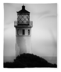 Pointe Vincente Lighthouse Fleece Blanket