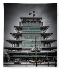 Pole Day At The Indy 500 Fleece Blanket