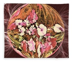 Pollen Power Fleece Blanket