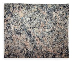 Pollock's Number 1 -- 1950 -- Lavender Mist Fleece Blanket