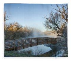 Pond Crossing Fleece Blanket