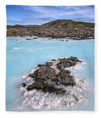 Pool Of Radiance Fleece Blanket