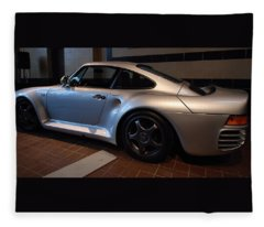 Porsche 1987 959 Fleece Blanket