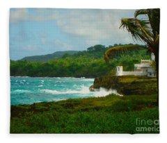 Port Antonio Fleece Blanket