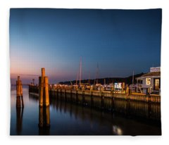 Port Jefferson Fleece Blanket