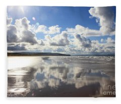 Portstewart Strand 4 Fleece Blanket
