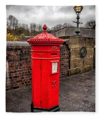 Post Box Fleece Blanket