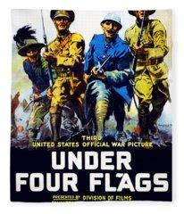 Poster Advertising The Film Under Four Fleece Blanket