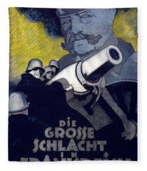 Poster For The Film The Great Battle Fleece Blanket