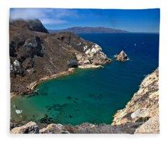 Potato Harbor Views Fleece Blanket