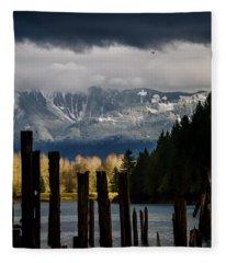 Potential - Landscape Photography Fleece Blanket