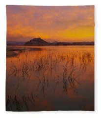 Powell Sunrise 1 Fleece Blanket