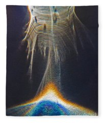 Powered By Light Fleece Blanket