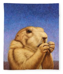 Prairie Dog Fleece Blanket