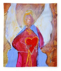 Precious Heart Angel Fleece Blanket