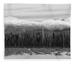 Presidential Range - Pondicherry Wildlife Refuge New Hampshire Fleece Blanket