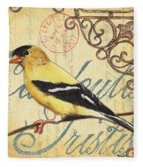 Pretty Bird 3 Fleece Blanket