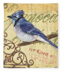 Pretty Bird 4 Fleece Blanket