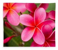 Pretty Hot In Pink Fleece Blanket