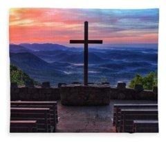 Pretty Place Chapel Sunrise Fleece Blanket