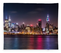 Pride Weekend Panorama Fleece Blanket