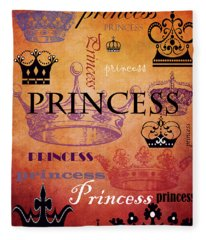 Princess 2 Fleece Blanket