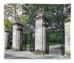 Princeton University Main Gate Fleece Blanket