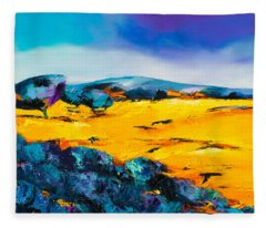 Provence Colors Fleece Blanket