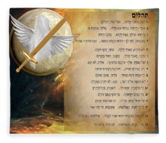 Psalm 91 Fleece Blanket