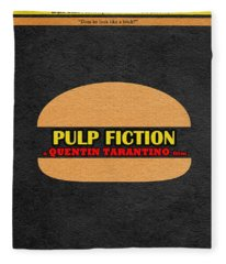 Pulp Fiction Fleece Blanket