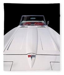 Pure Enjoyment - 1964 Corvette Stingray Fleece Blanket