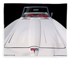 Pure Enjoyment - 1964 Corvette Stingray Fleece Blanket