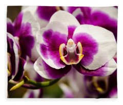 Purple Beauty Fleece Blanket