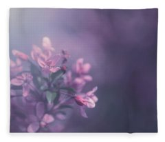 Purple Fleece Blanket