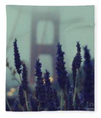 Purple Haze Daze Fleece Blanket