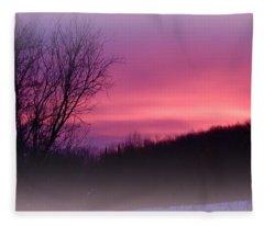 Purple Majesty Fleece Blanket