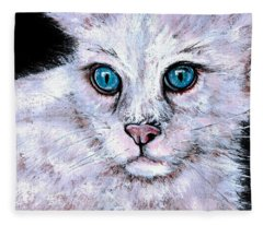 Purrrrrfect Sky Fleece Blanket