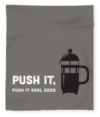 Push It Fleece Blanket