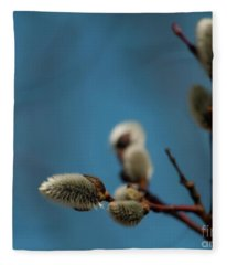 Pussy Willow... Fleece Blanket